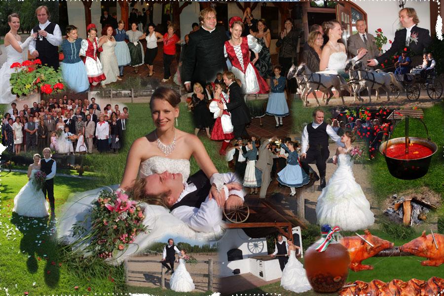 Esküvői fotó - Tanyacsárda